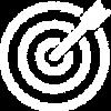 Icone - objectif blanc